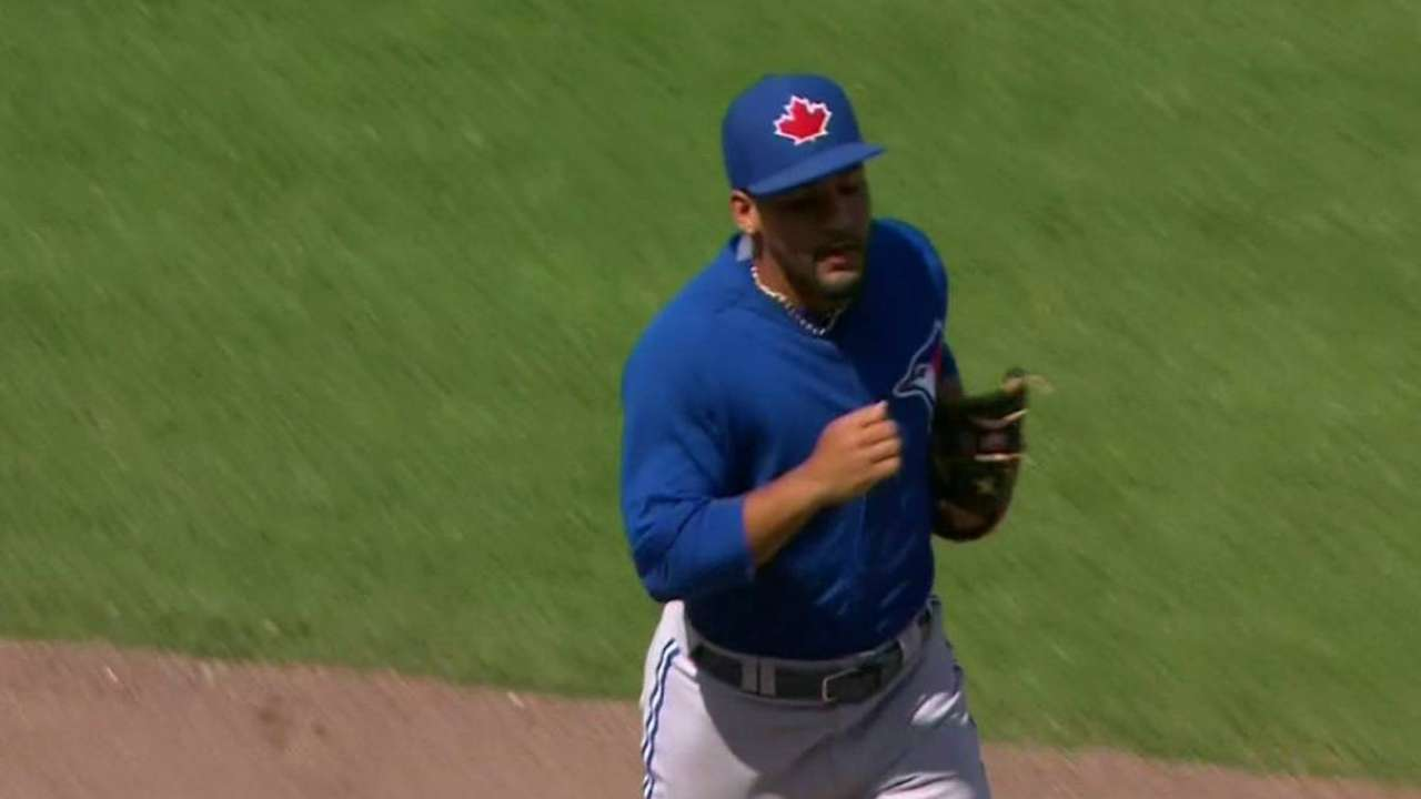 Blue Jays weighing options on several roster spots