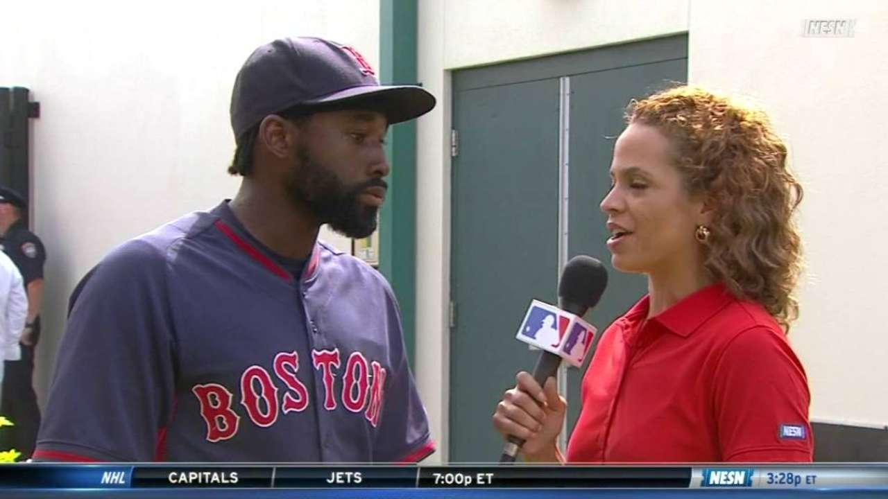 Bradley Jr. on Spring Training