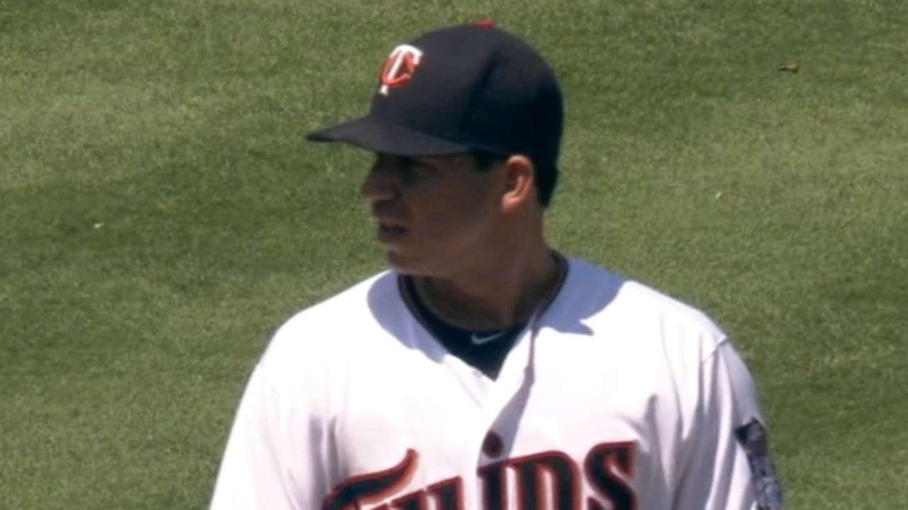 Milone's one bad inning tilts day in May's favor