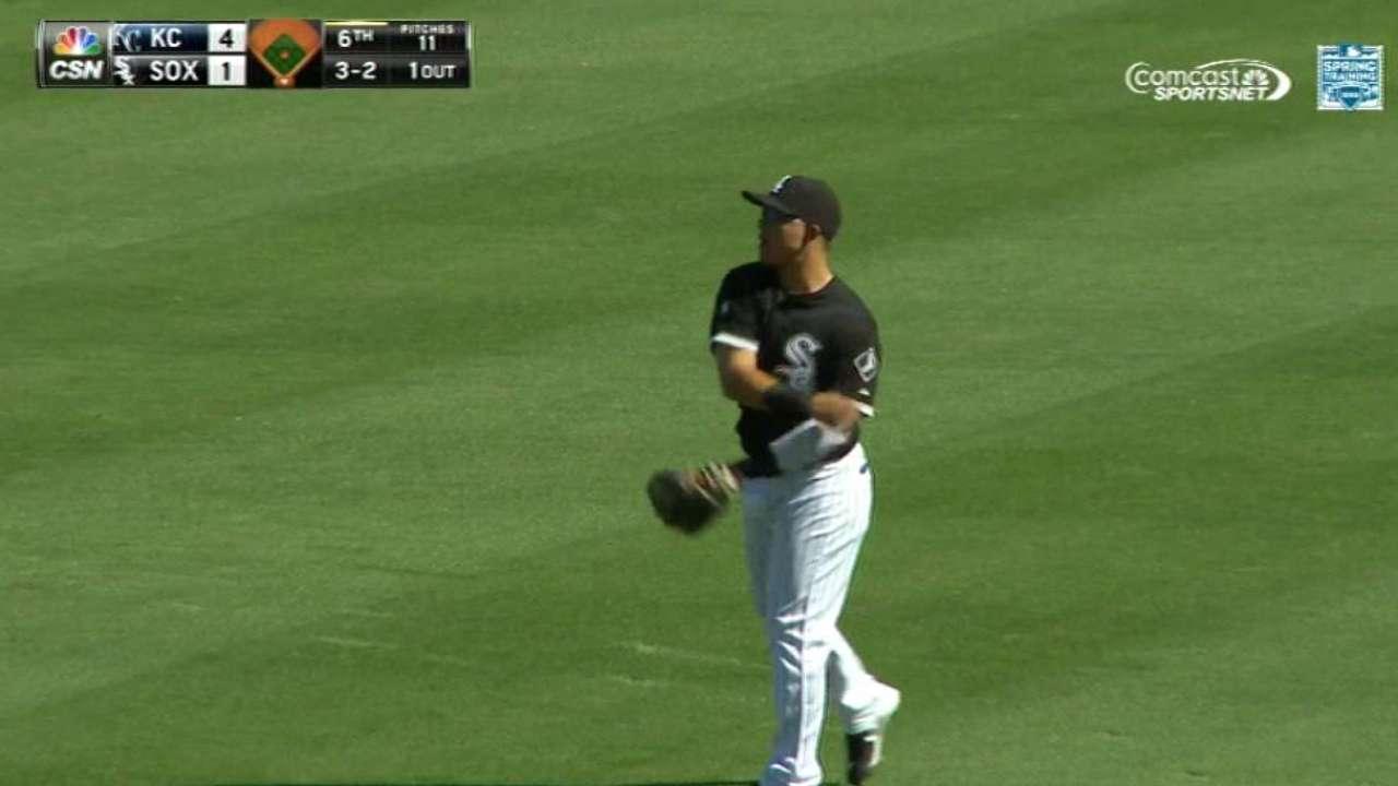 Sanchez's leaping catch