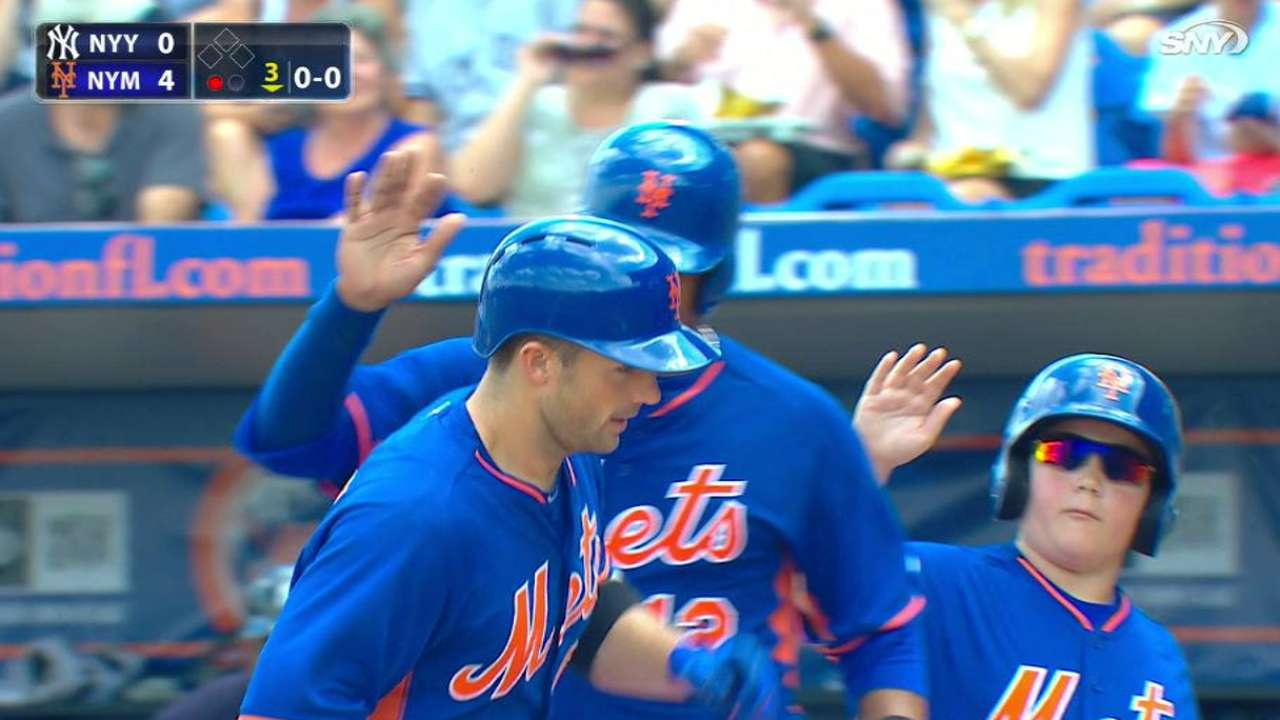 Backed by early homers, Harvey twirls scoreless outing