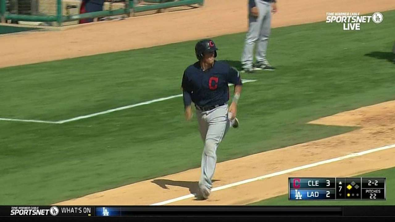 Kluber looks crisp, despite allowing two homers