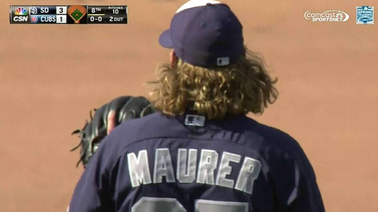 Maurer's long relief 'critical' for Padres in win