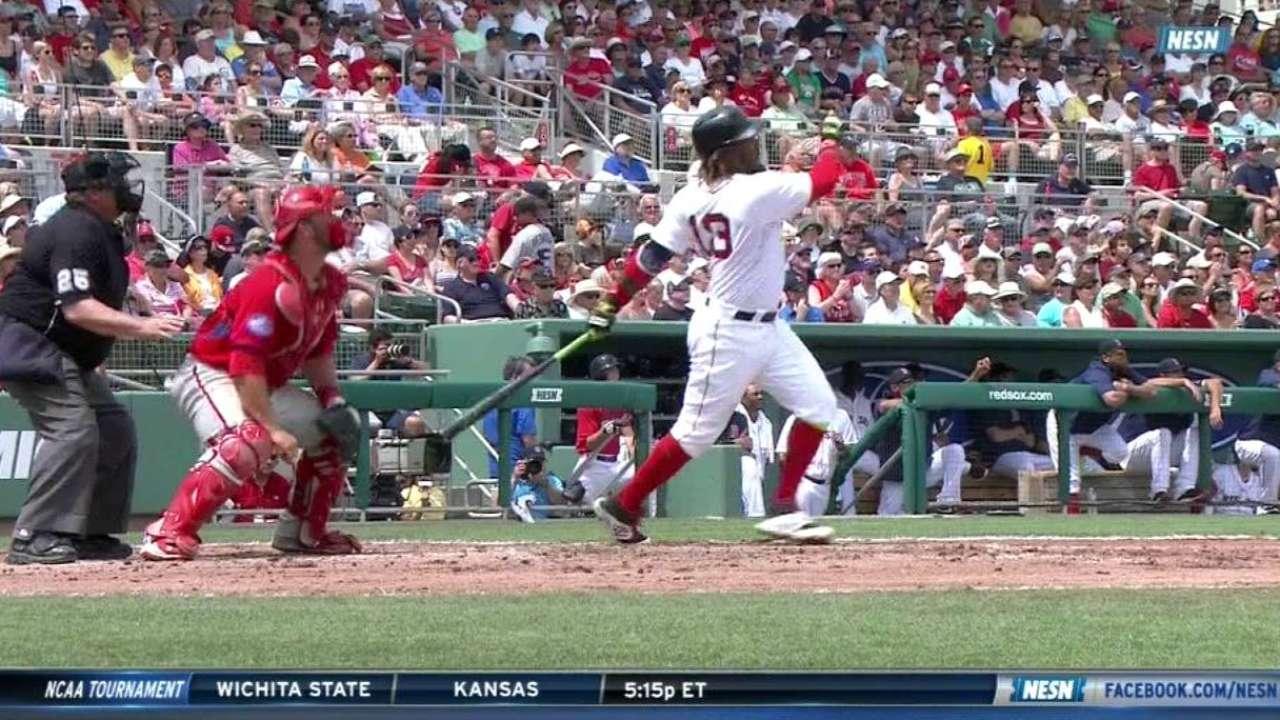 Ramirez's three-run home run