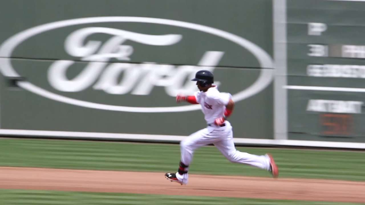 Betts taking Red Sox Nation by storm