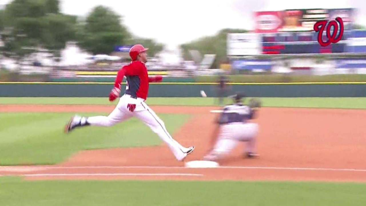 Escobar notches hit, flashes leather in spring debut