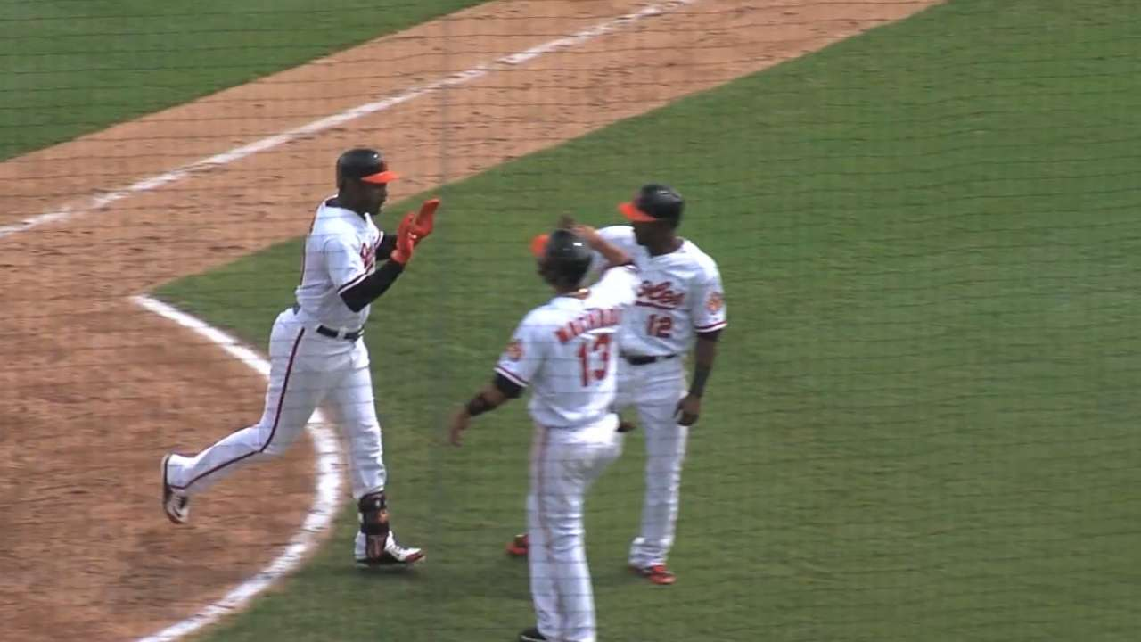 Jones swats pair of homers