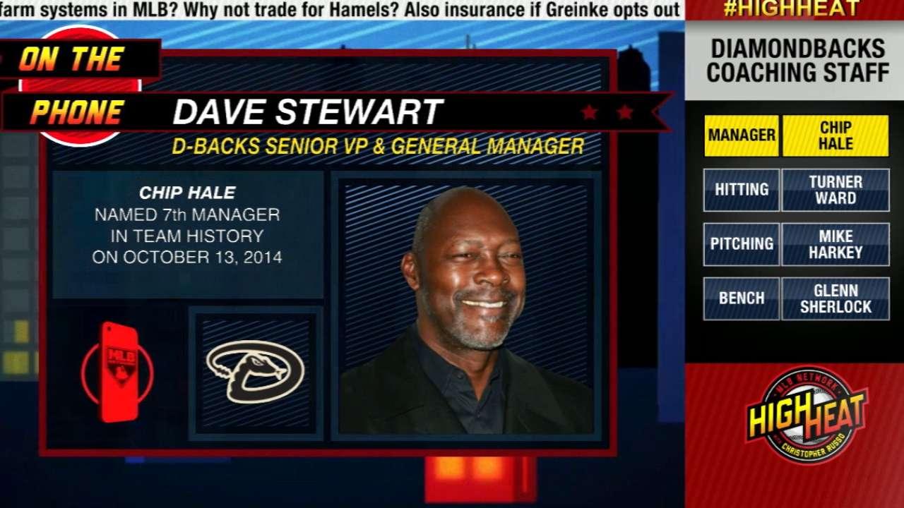 Stewart: Catcher Navarro too expensive for D-backs