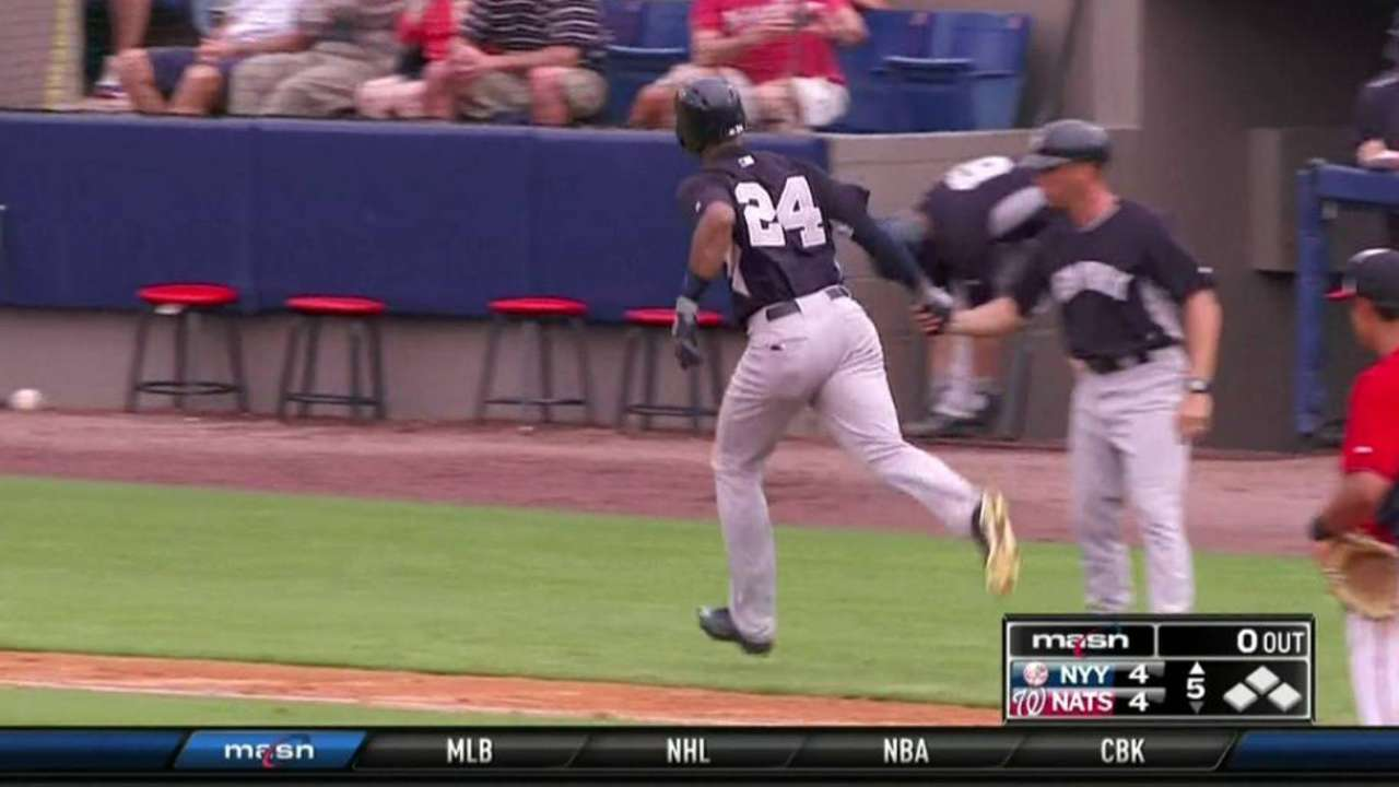 Mitchell backed by homers from Young, McCann