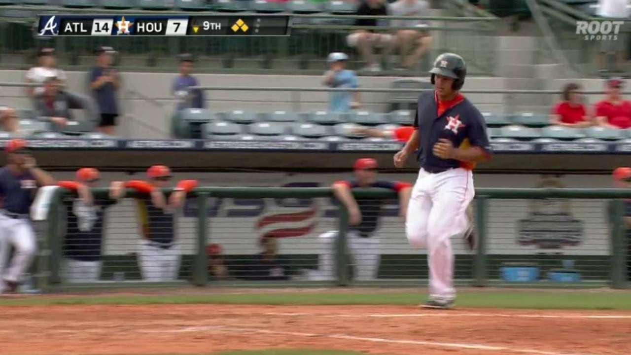 Astros DFA Dominguez to make room for Correa