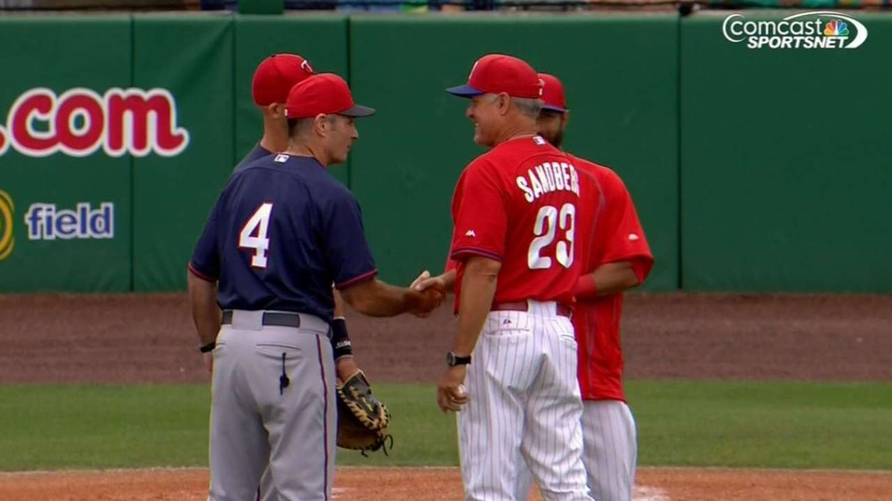 Sandberg, Molitor make history in head-to-head matchup