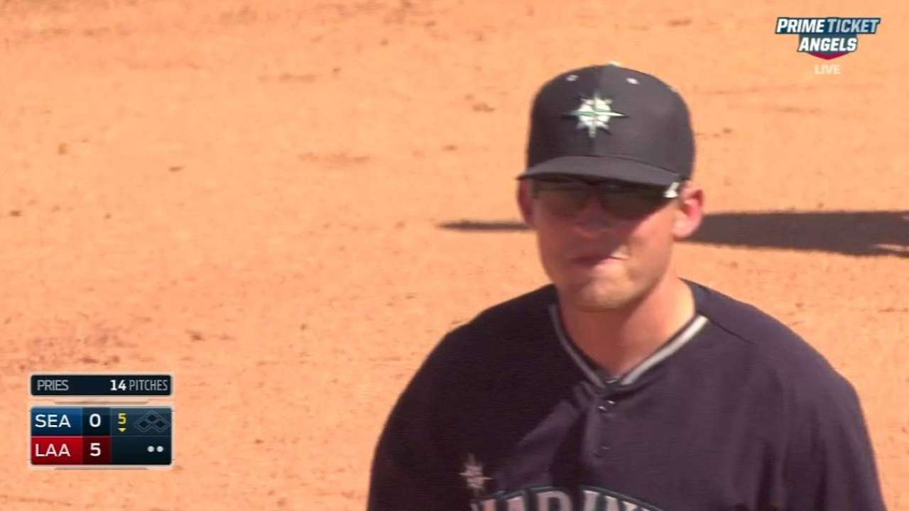 Ramirez endures first rough spring outing in loss to Halos
