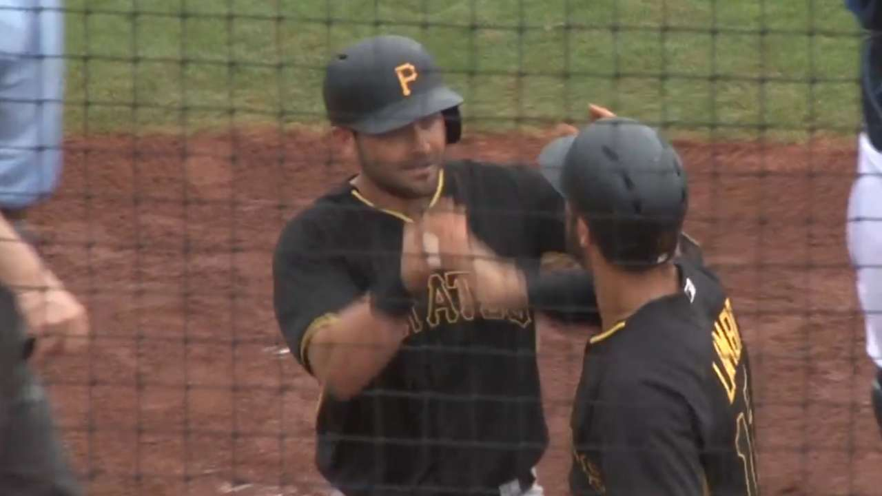 Cervelli, Pirates power up in comeback victory