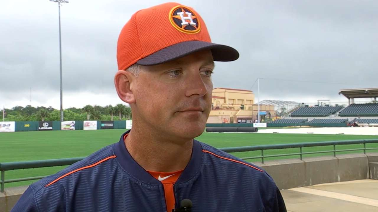 Hinch's approach perfect fit for young Astros