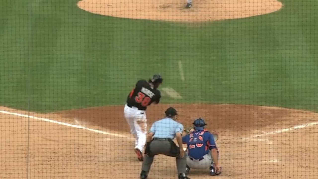 Morse's two-homer game