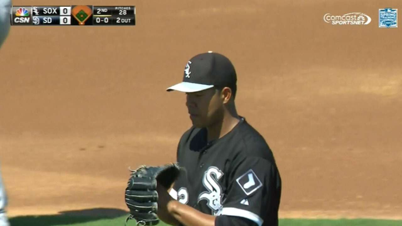 Quintana says he's Game 2 starter for White Sox