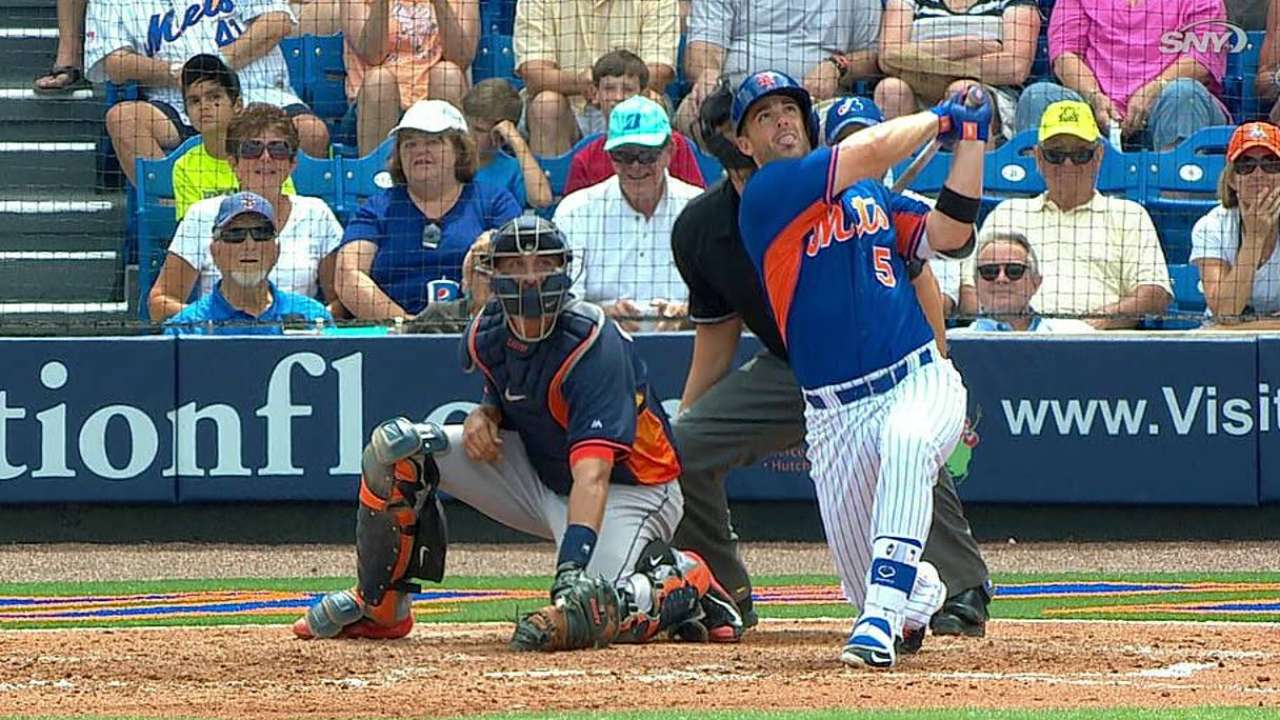 Wright's bat remains hot as Gee stretches out