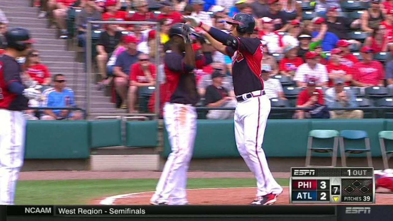 Simmons' two-run homer