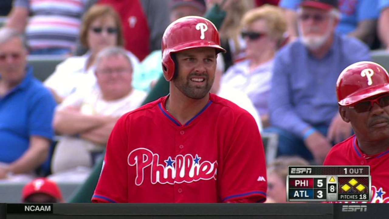 Danks, Sizemore top candidates for Phils' right-field job