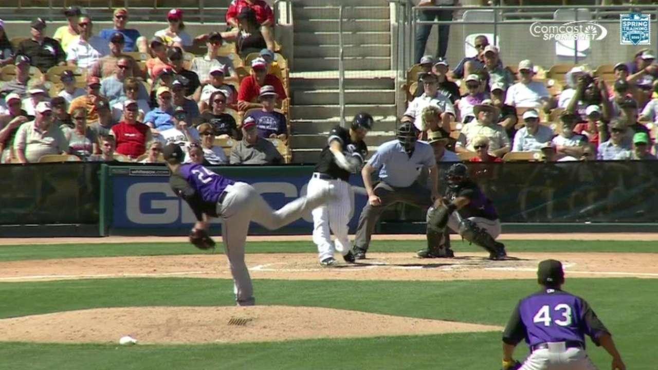 Cabrera comes home on error