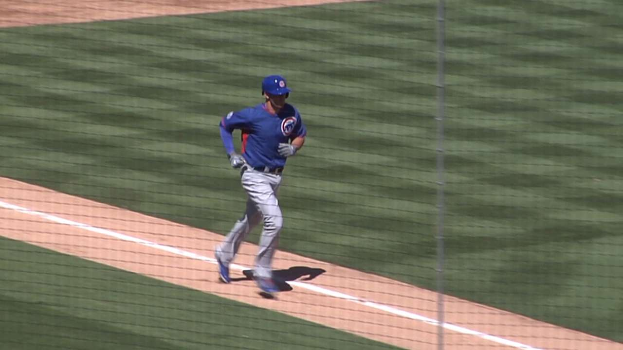 9 is fine: Bryant homers -- again