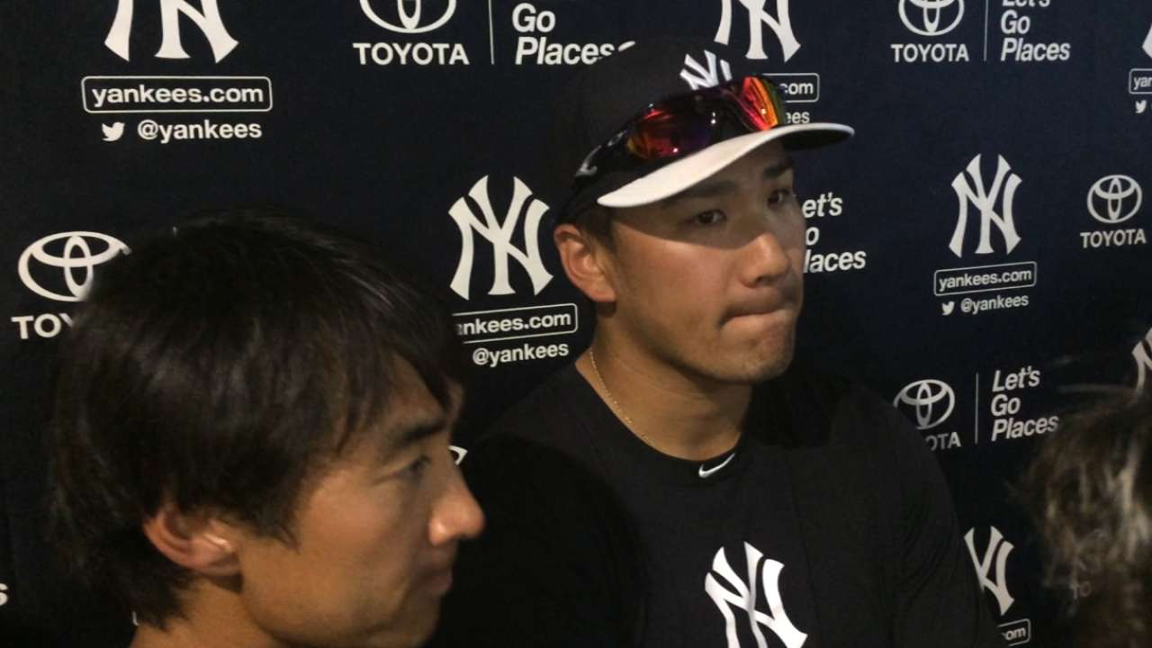 Tanaka lined up to start Opening Day