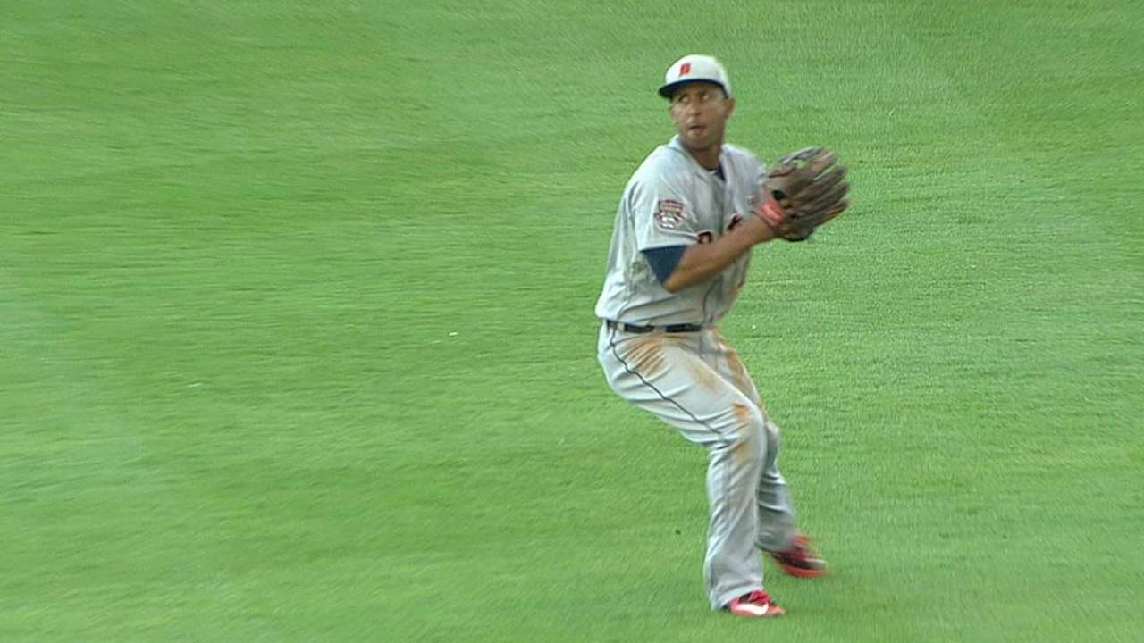 Gose turns double play