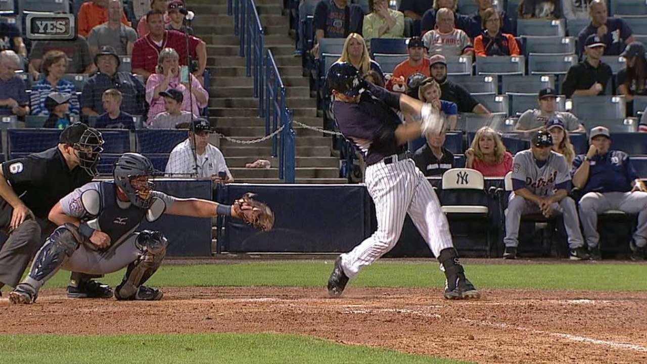 Backup catcher last battle as Yanks trim roster