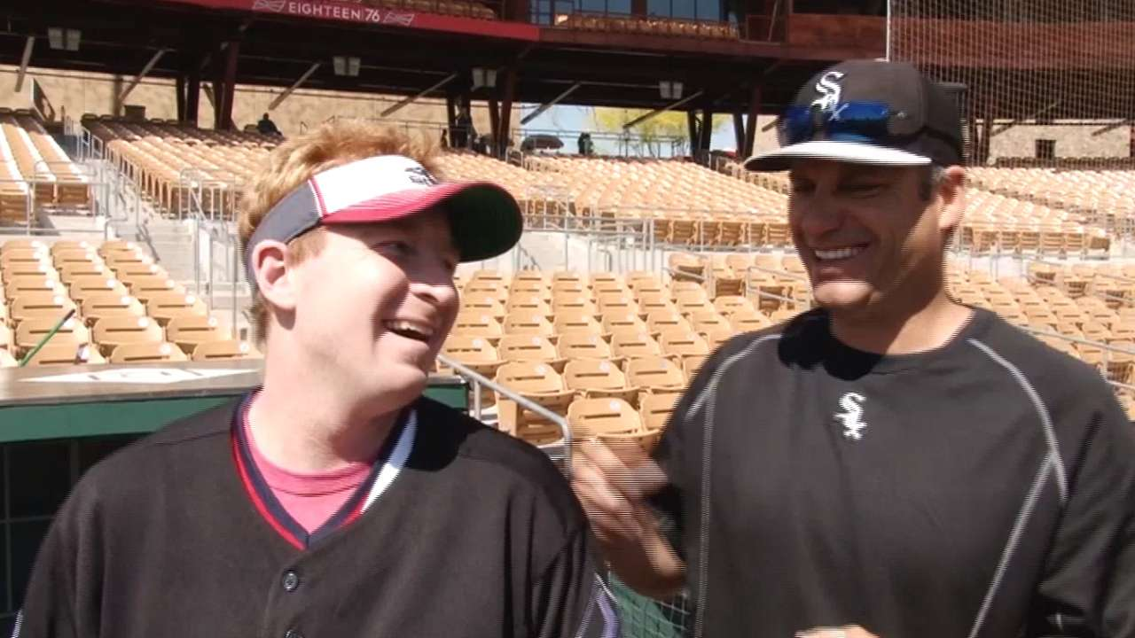 Day at camp an emotional experience for White Sox fan
