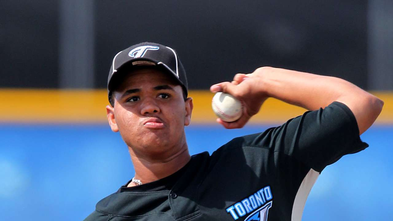 Blue Jays' Labourt tabbed for Futures Game