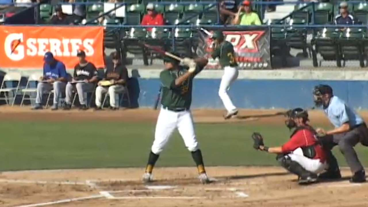Tellez leads charge with second AFL homer
