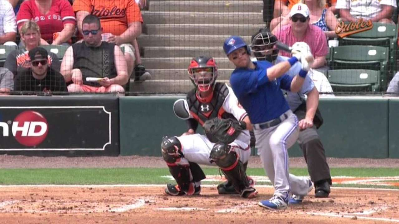 Tolleson's solo home run