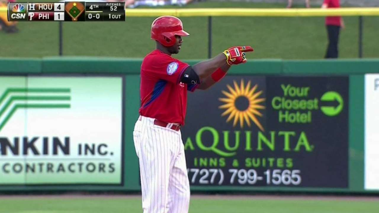Howard notches RBI, but other bats stay silent