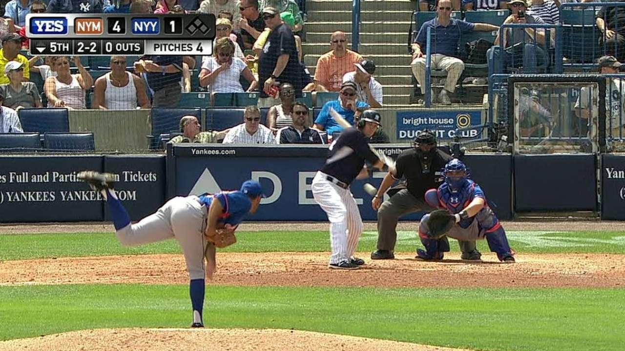 Gilmartin making case for role in Mets' bullpen