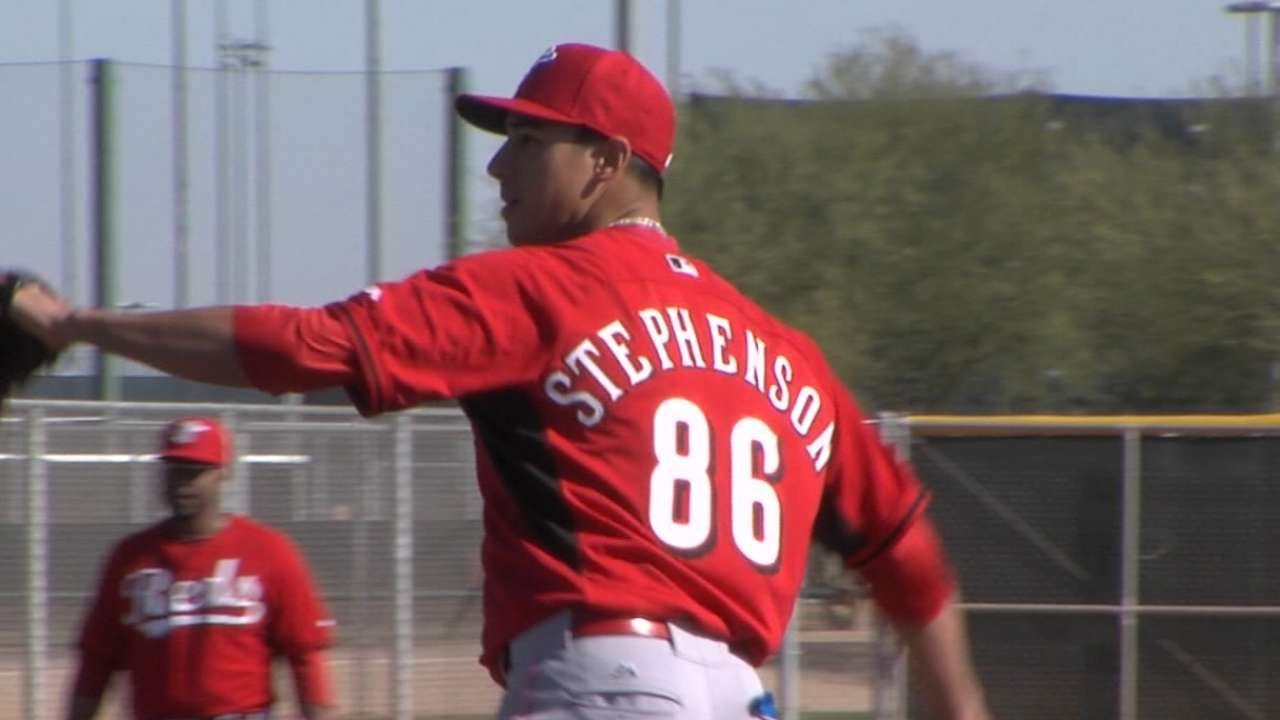 MLB Pipeline checks in from Reds camp