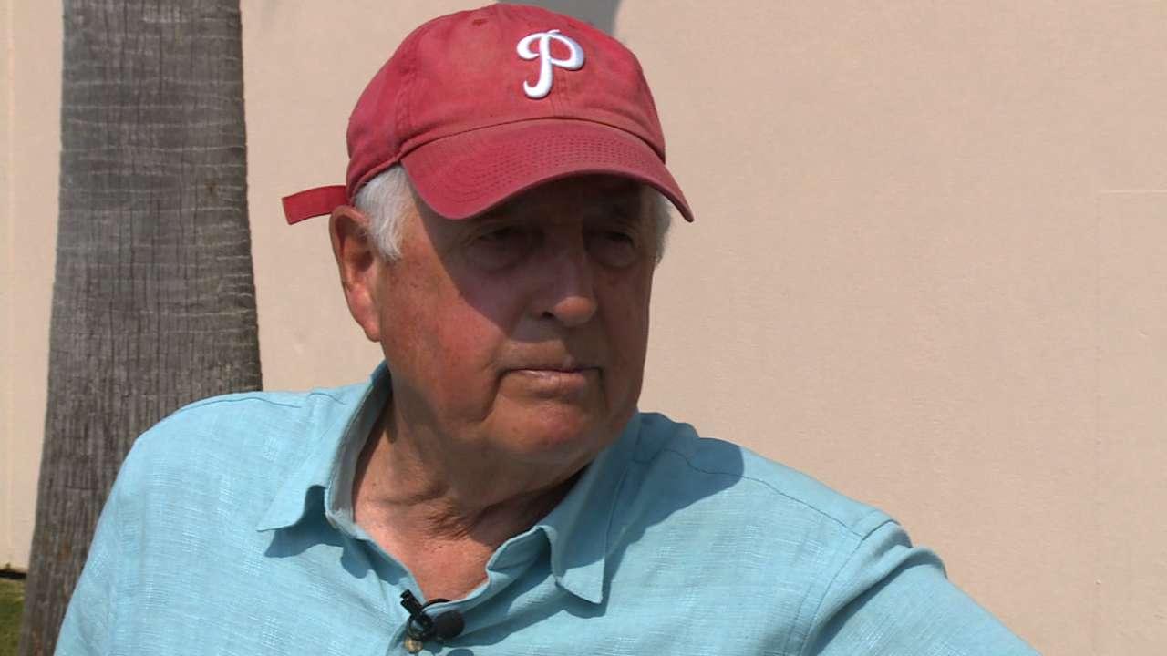 Gillick sees Phillies rebuild on schedule