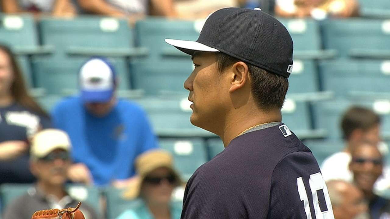 Yankees tab Tanaka for Opening Day start