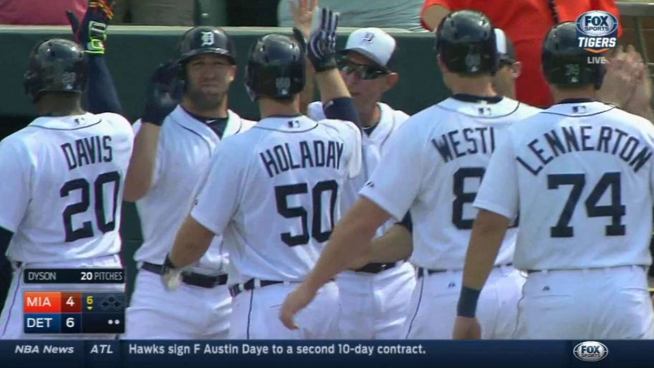 Holaday's grand slam