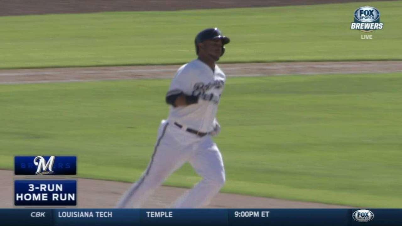 Jimenez's three-run home run