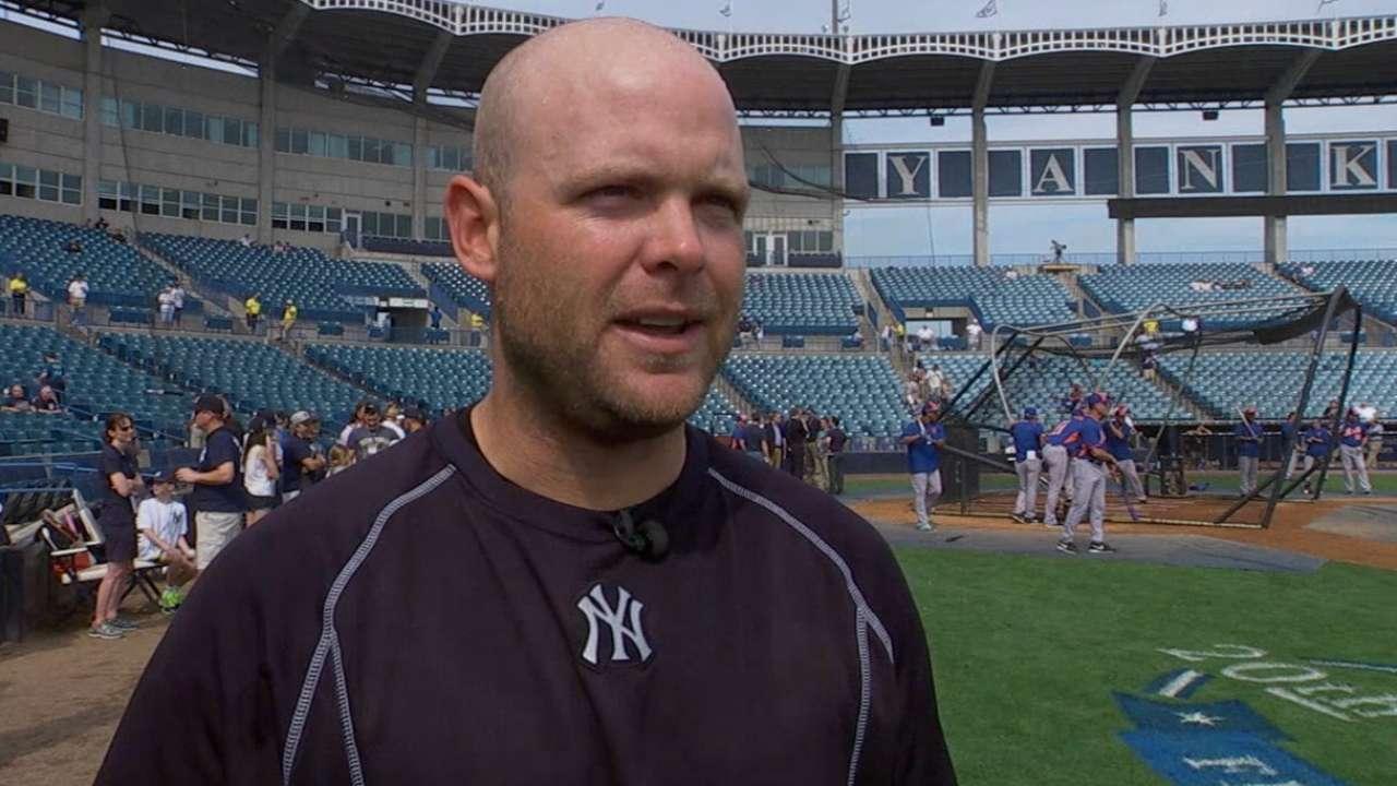 McCann on Yanks' pitching staff