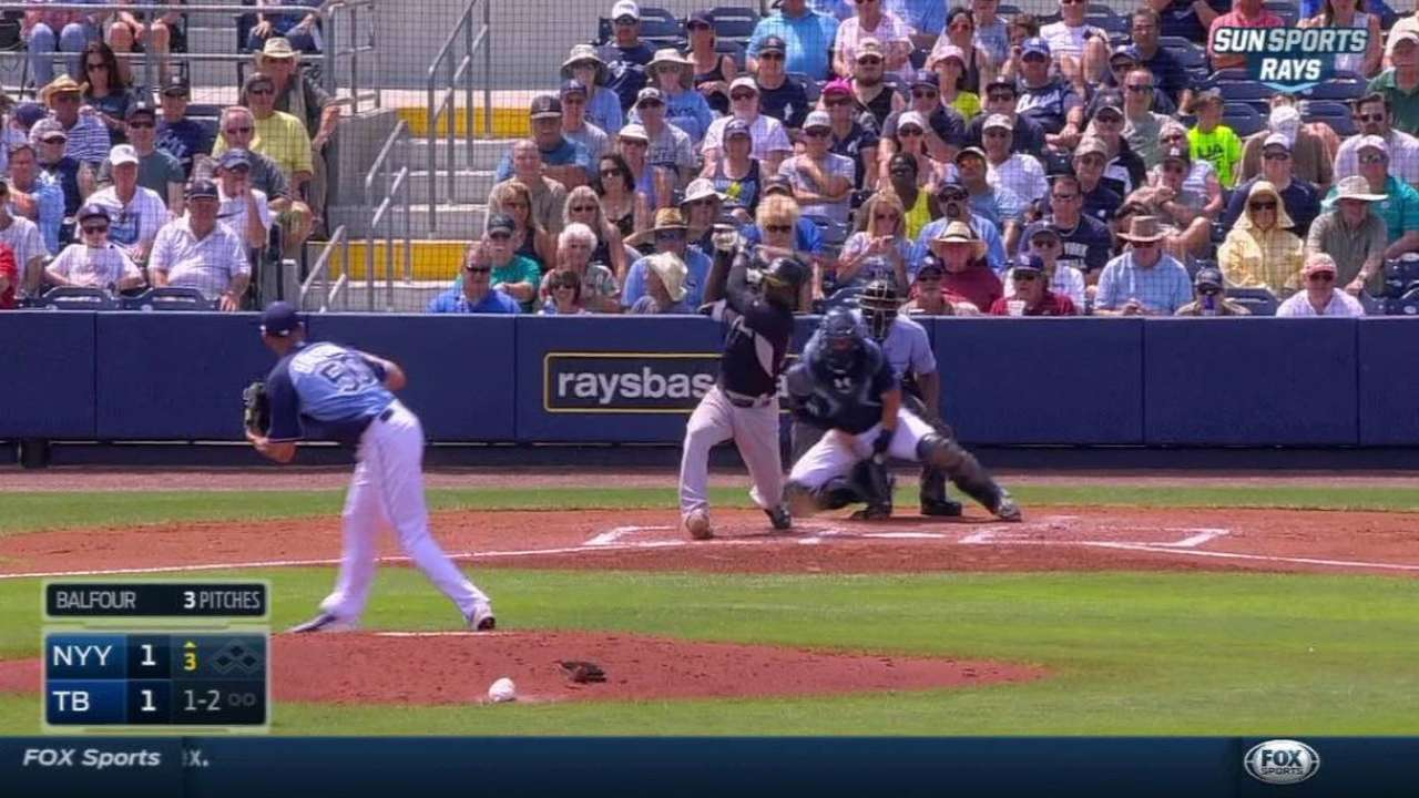 Balfour a free agent after release from Rays