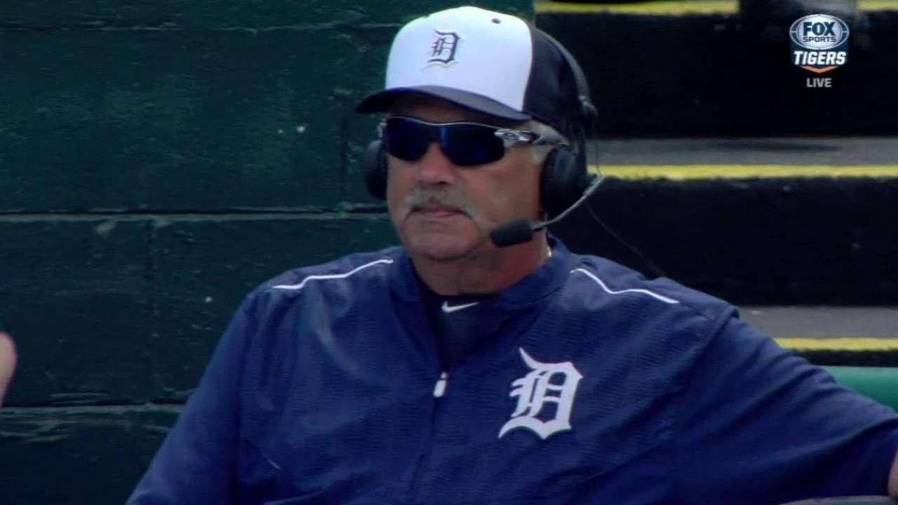 Jones on Tigers' staff