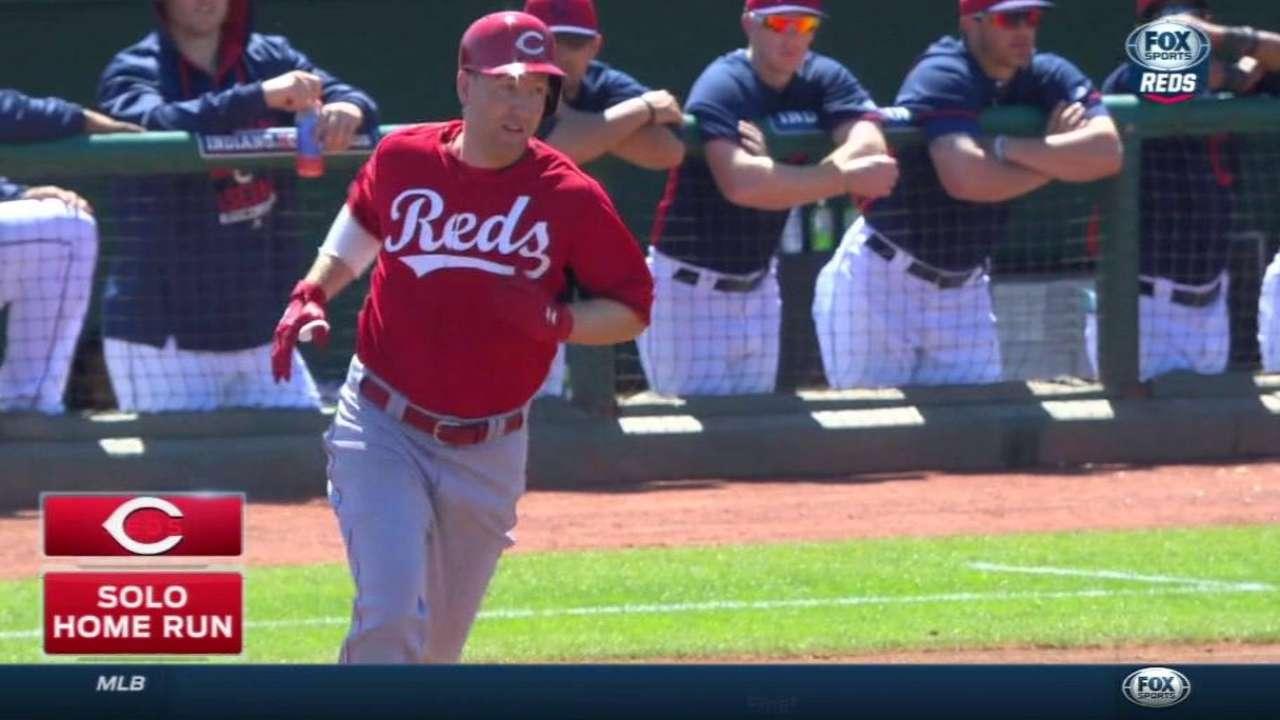 Frazier's solo home run to left