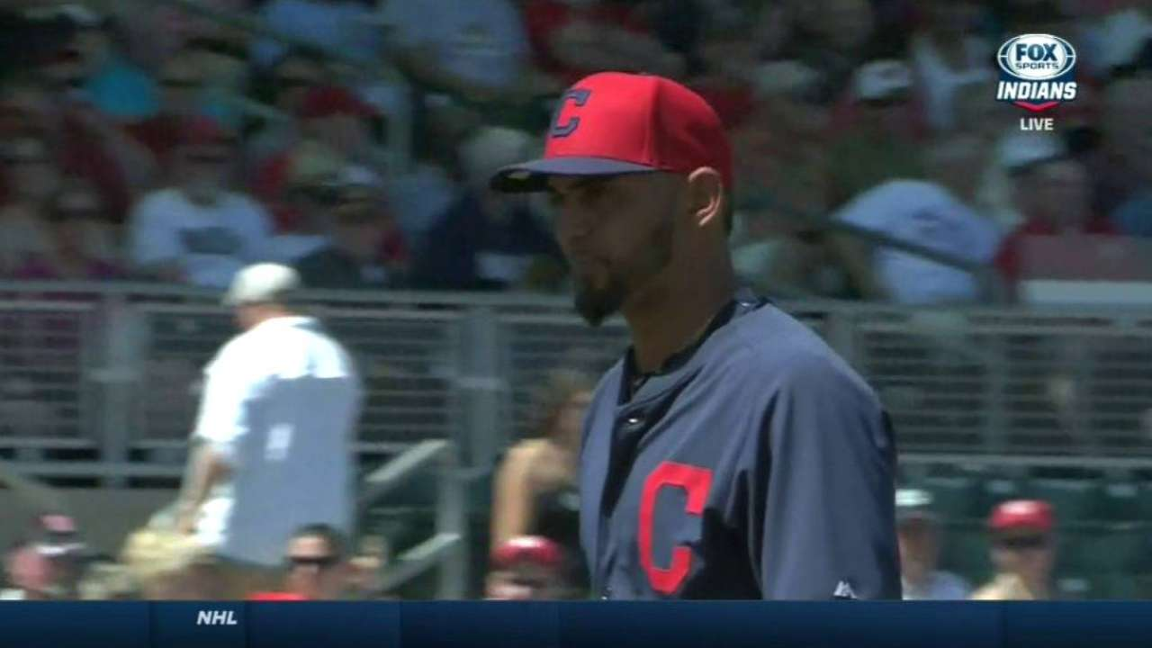 Salazar getting chance to reclaim rotation spot
