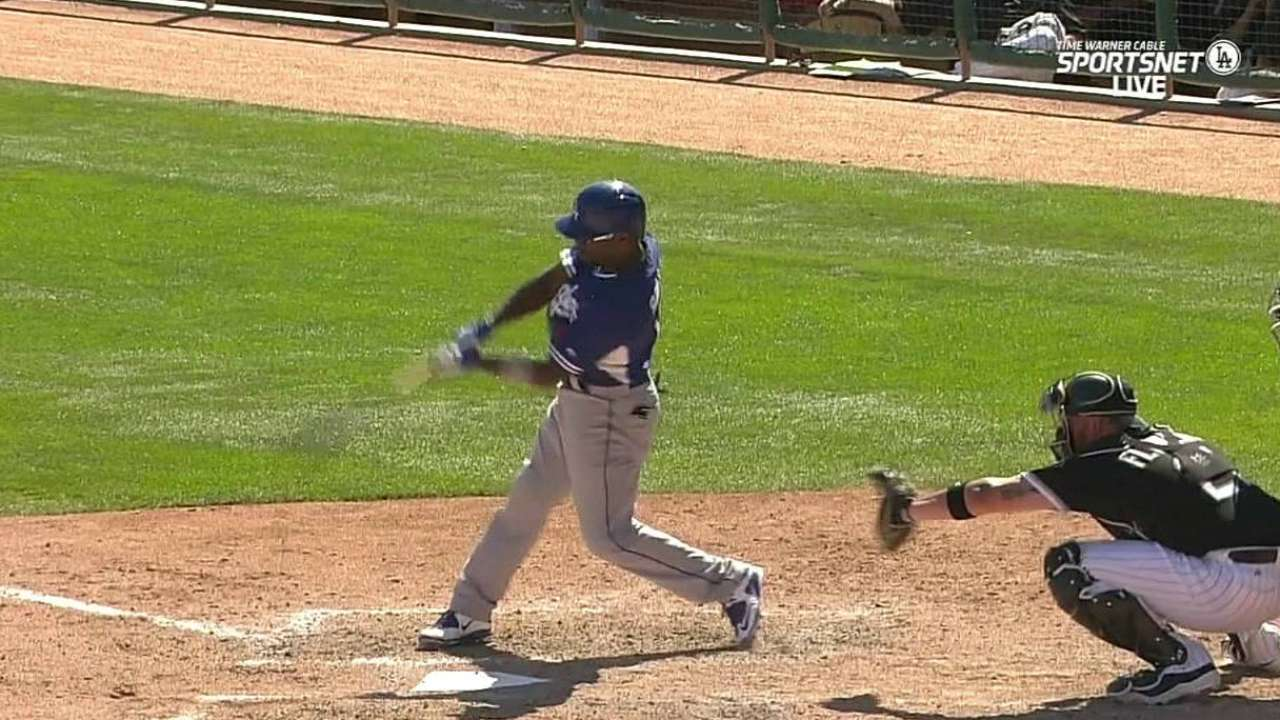 Rollins' two-run shot