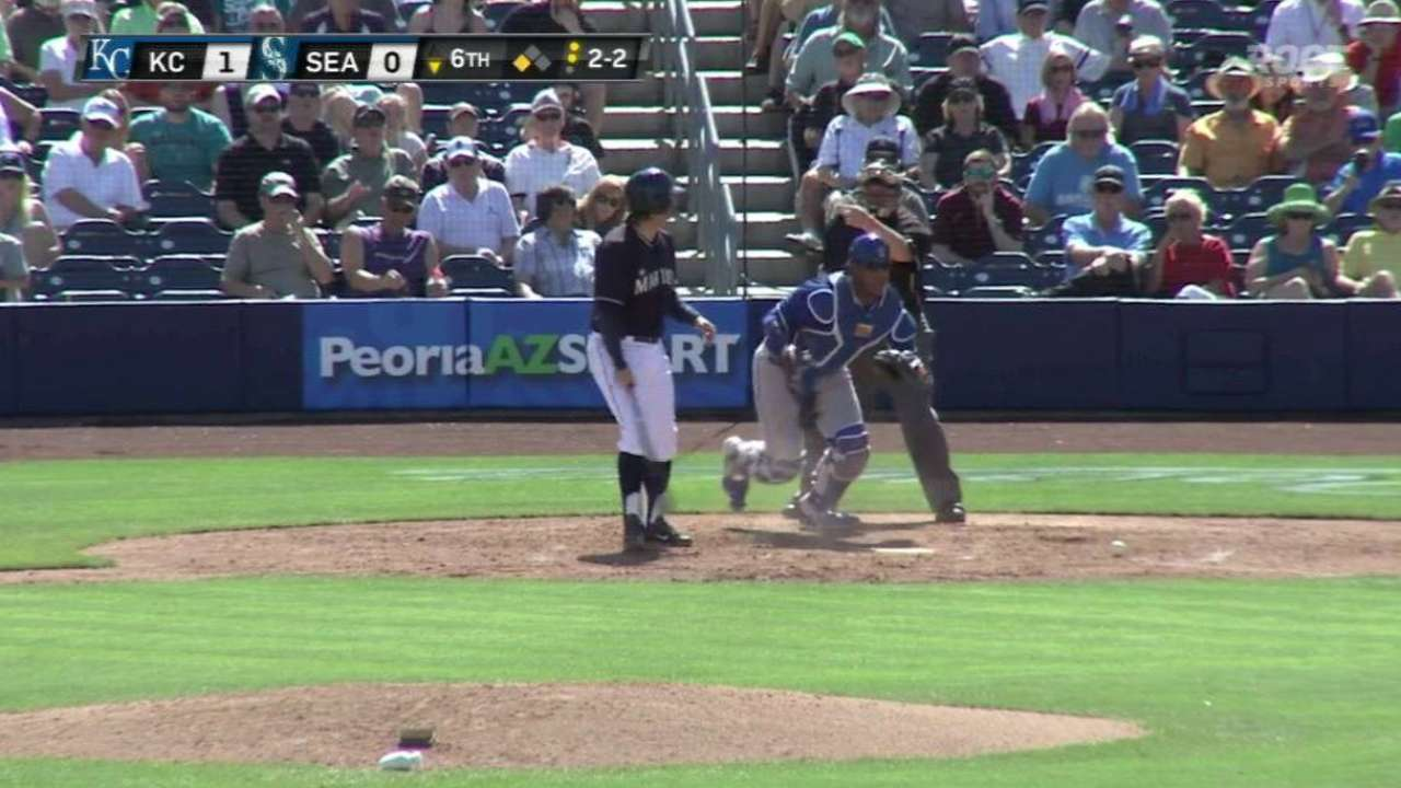 Holland's K ends the inning