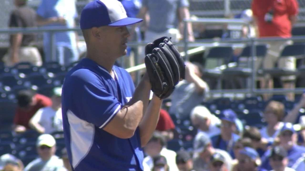 Royals won't skip No. 5 Guthrie despite early off-day