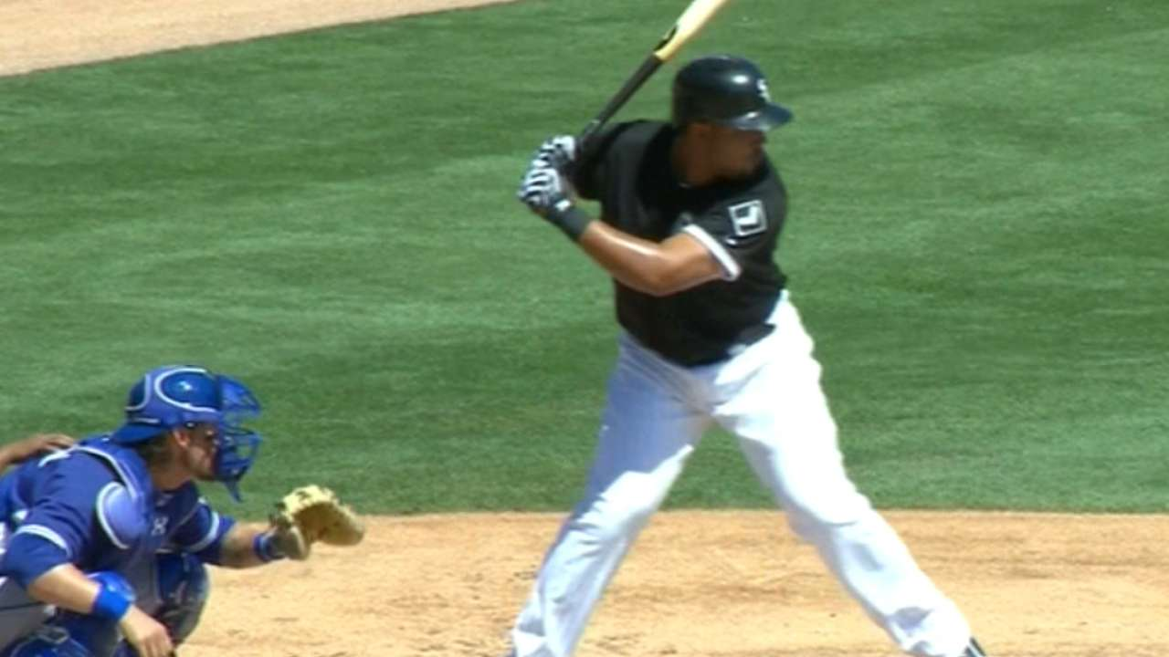 Abreu's three-hit game