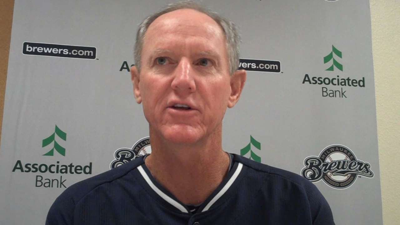 Roenicke's focus on future, not past