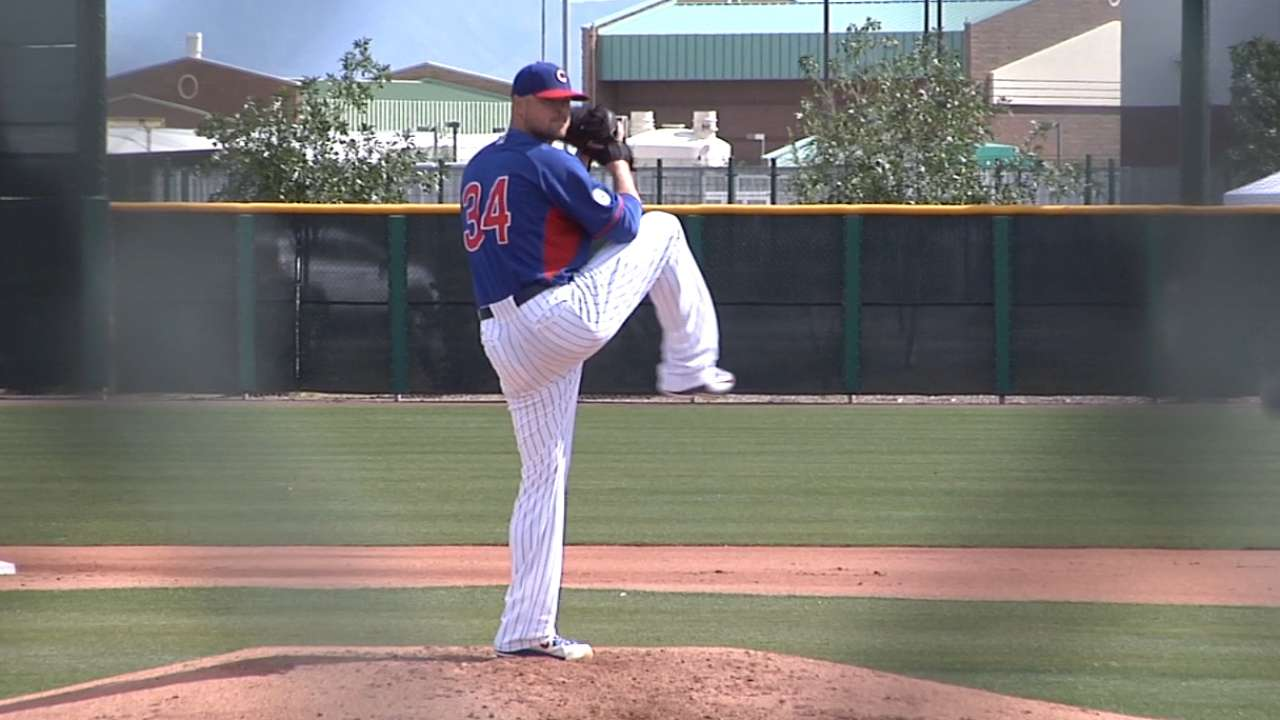 Lester has 'good, normal' outing in Minors game